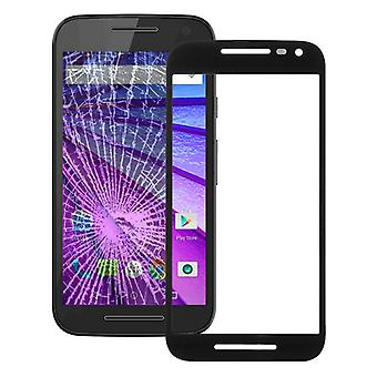 Display glas, glas sort for Motorola Moto G 3rd generation XT1540 XT1541
