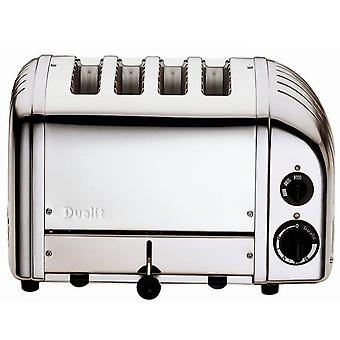 Dualit Toaster 4 Slot Classic Vario Polished Stainless Steel 40378