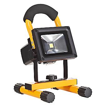 10W Rechargeable LED Portable Flood/Work Light IP44 Rated