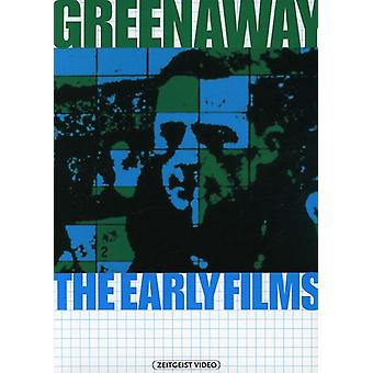 Greenaway-tidlige film [DVD] USA importerer