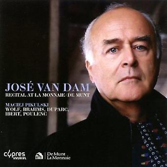 José Van Dam - José Van Dam betragtning på La Monnaie / De Munt, 1997 [CD] USA import