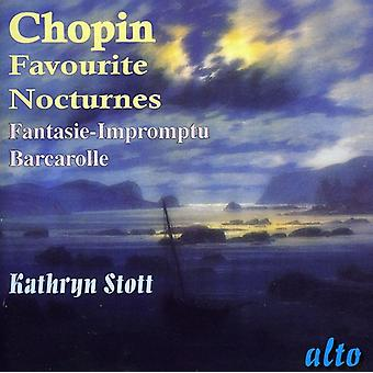 F. Chopin - Chopin: Favourite Nocturnes; Fantasie-Impromptu; Barcarolle [CD] USA import