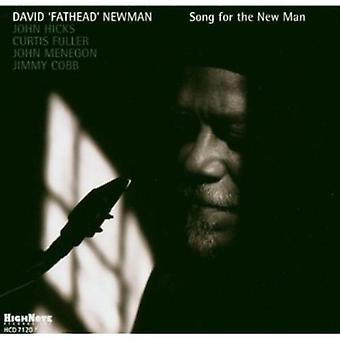 David bredhovedet Newman - Song for nye mand [CD] USA importen
