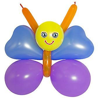Ballong modellering ställa DIY fjäril fjäril