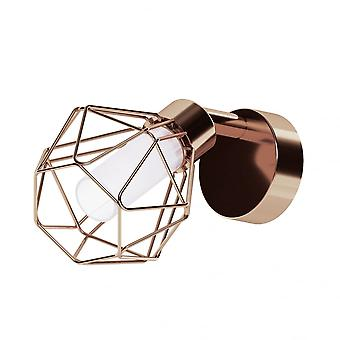 Eglo Zapata 1 Light Spot Light Copper