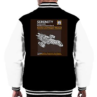 Serenity Service And Repair Manual Firefly Men's Varsity Jacket