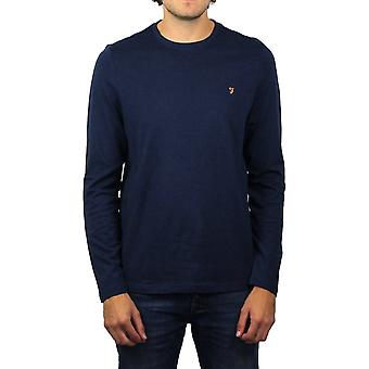Farah Denny Long-Sleeved Crew-Neck T-Shirt (Yale Marl)