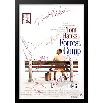 Forrest Gump - Signed Movie Poster