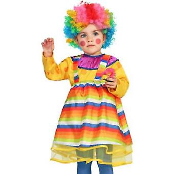 Baby costumes  Baby clown girl costume