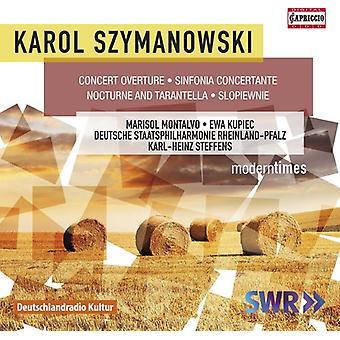 Szymanowski / Montalvo / Kupiec / Steffens - Karol Szymanowski: Orchestral Works [CD] USA import