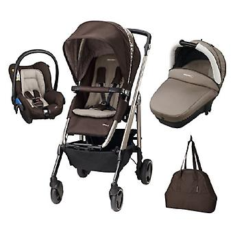 Bebe Confort Loola Excel Pack Trio Earth Brown