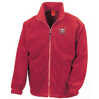 The Royal Lancers Embroidered Logo - Official British Army Full Zip Fleece