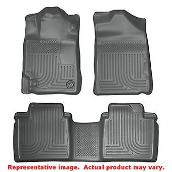 Husky Liners 98512 Grey WeatherBeater Front & 2nd Seat  FITS:TOYOTA 2007 - 2011