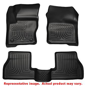 Husky Liners 98771 Black WeatherBeater Front & 2nd Seat FITS:FORD 2012 - 2014 F