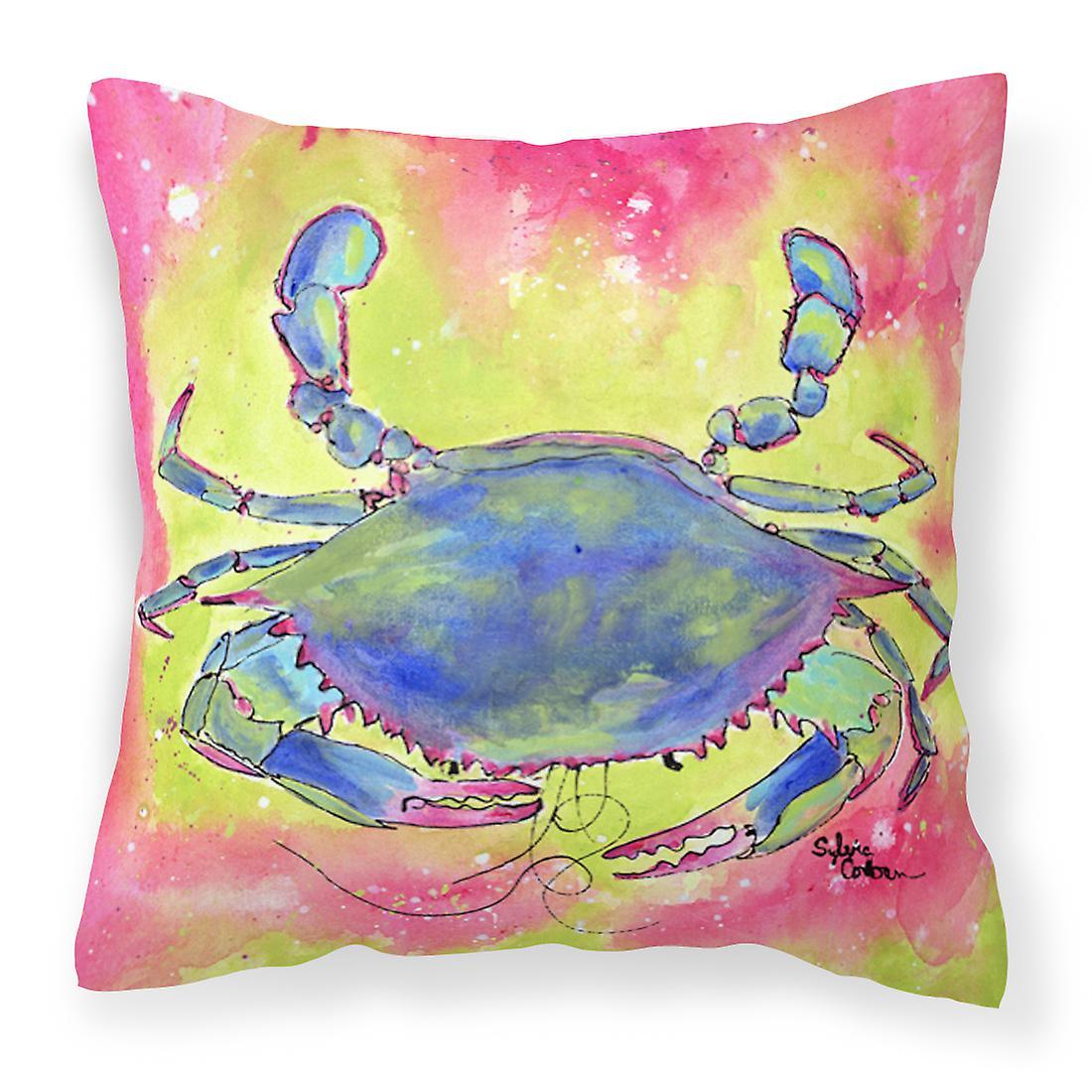 Toile Oreiller Décoratif Carolines Crabe Trésors 8343pw1414 Tissu nPO0w8k