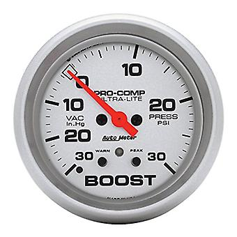 Auto Meter 4477 Ultra-Lite Electric Boost/Vacuum Gauge