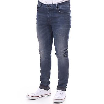 Scotch & Soda Skim Plus Alfa grijs Denim