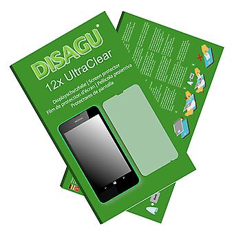 Nokia Lumia 635 screen protector (deliberately smaller than the display, as this is arched)