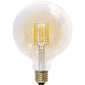 LED E27 Globe 8 W = 35 W Gold (Ø x L) 125 mm x 180 mm EEC: A Segula dimmable, Filament 1 pc(s)