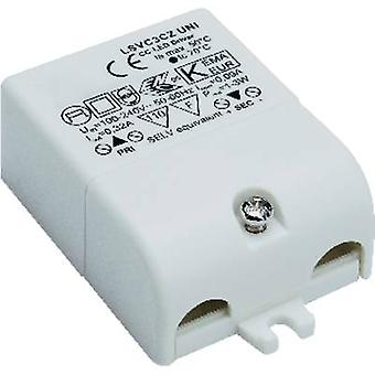 SLV LED driver Constant current 3 W 0.32 A 3 - 9 Vdc not dimmable, Surge protection, Approved for use on furniture