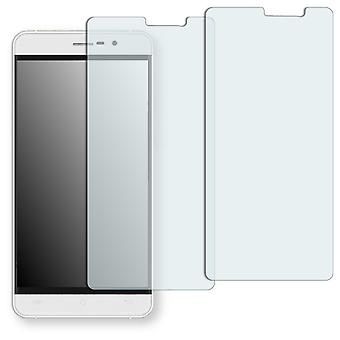 Cubot Z100 display protector - Golebo crystal-clear protector (deliberately smaller than the display, as this is arched)