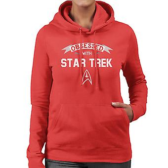 Obsessed With Star Trek Women's Hooded Sweatshirt