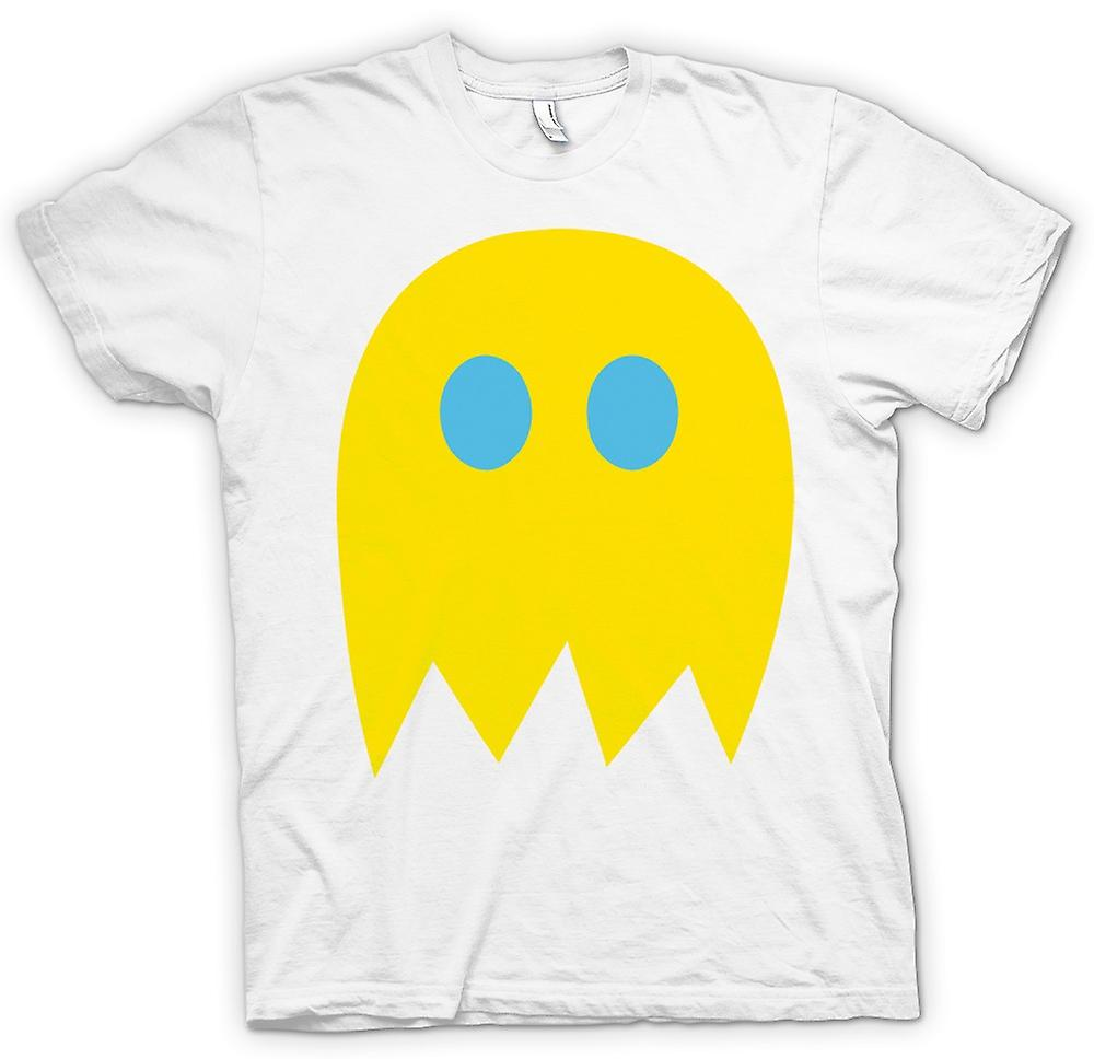 Womens T-shirt - Pacman Ghost - Retro Gamer