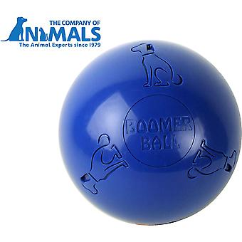 Company of Animals Boomer Ball, Dog Toy (6inch / 150mm) Blue Colour