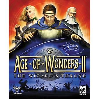 Age of Wonders 2 de Wizards troon