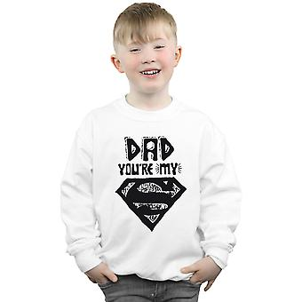 DC Comics Boys Superman Super Dad Sweatshirt