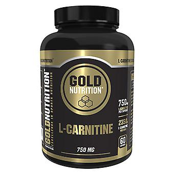 Gold Nutrition L-Carnitine 750 mg 60 Capsules (Sport , Muscle definition , L-Carnitine)