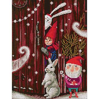 Waiting For A Fairy Tale Counted Cross Stitch Kit-10