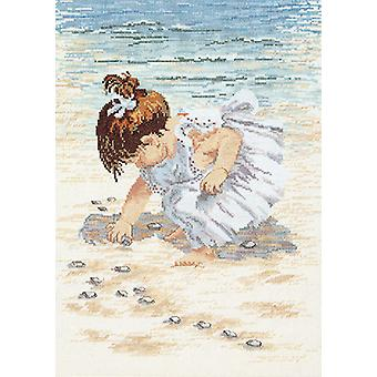 Collecting Shells Counted Cross Stitch Kit-12
