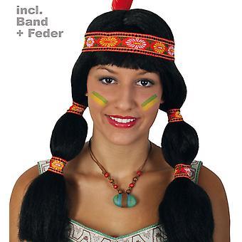 Wig Aponi Indian ladies braids Apache