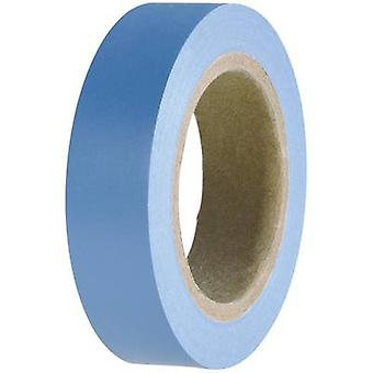 Electrical tape HelaTape Flex 15 Blue (L x W) 10 m x 15 mm Helle