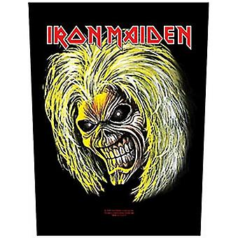 Iron Maiden Killers Head Large Sew-On Back Patch