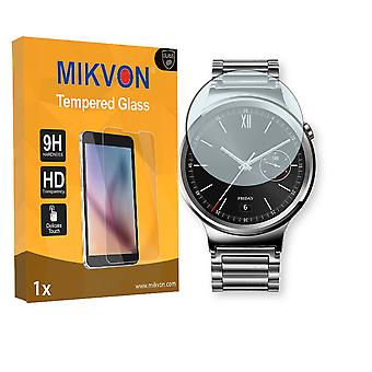 Huawei Watch Classic Screen Protector - Mikvon flexible Tempered Glass 9H (Retail Package with accessories)
