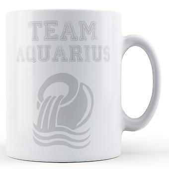 Equipe Aquarius - caneca impressa