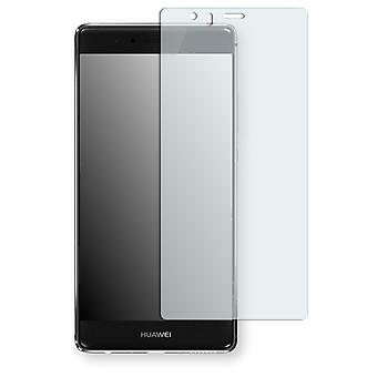 Huawei P9 plus screen protector - Golebo Semimatt protector (deliberately smaller than the display, as this is arched)