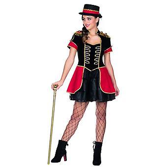 Zirkusdirektorin Kostüm Kleid Damen Karneval Fasching Zirkus