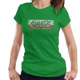Coca Cola Georgia Stripe Women's T-Shirt