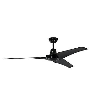 Industrial ceiling fan Vourdries Black without control