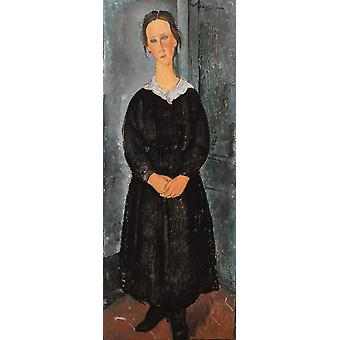 The Servant Gil, Amedeo Modigliani, ny02 80x40cm
