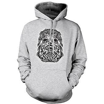 Womens Hoodie - Star Wars - Chewbacca