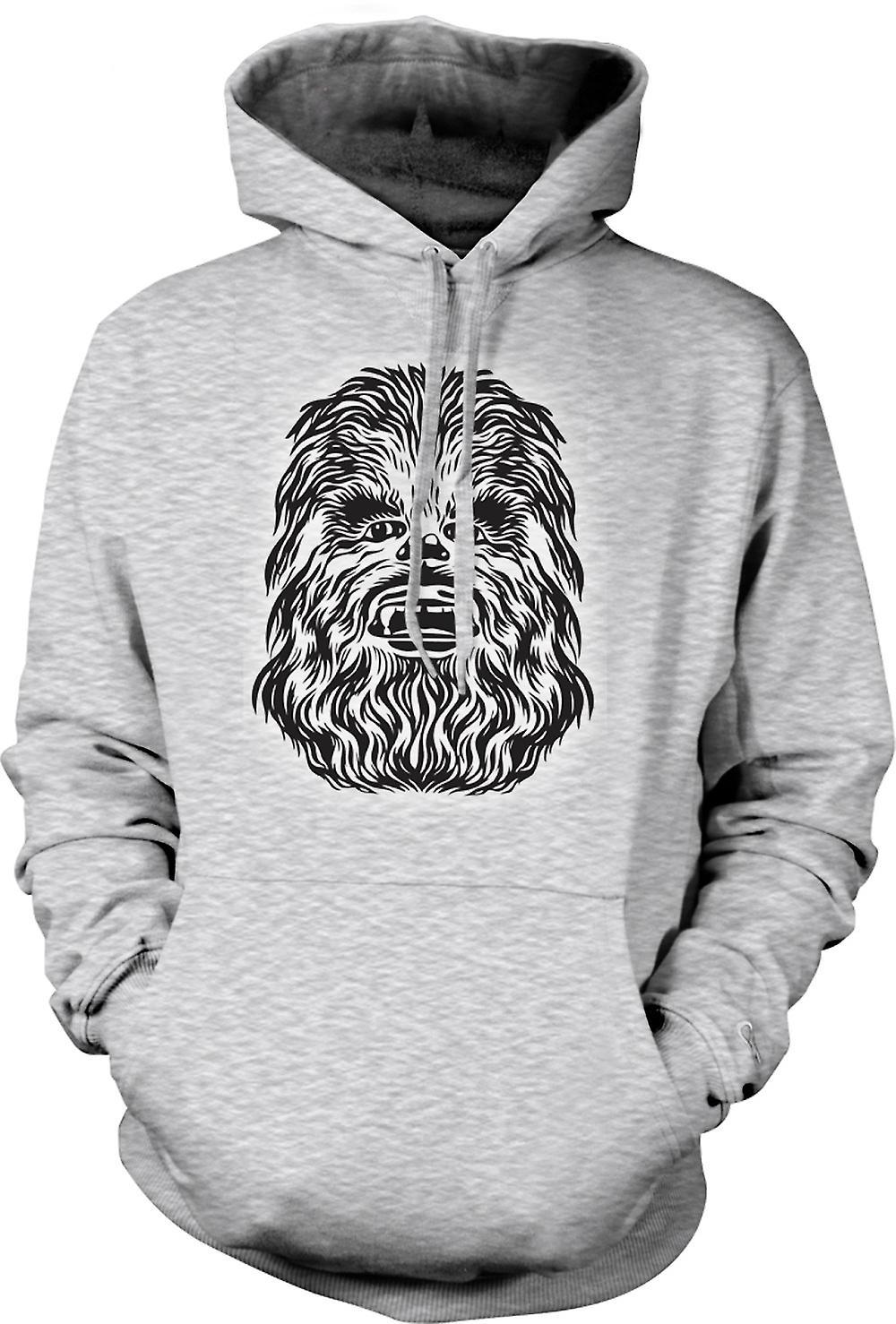 Mens hettegenser - Star Wars - Chewbacca