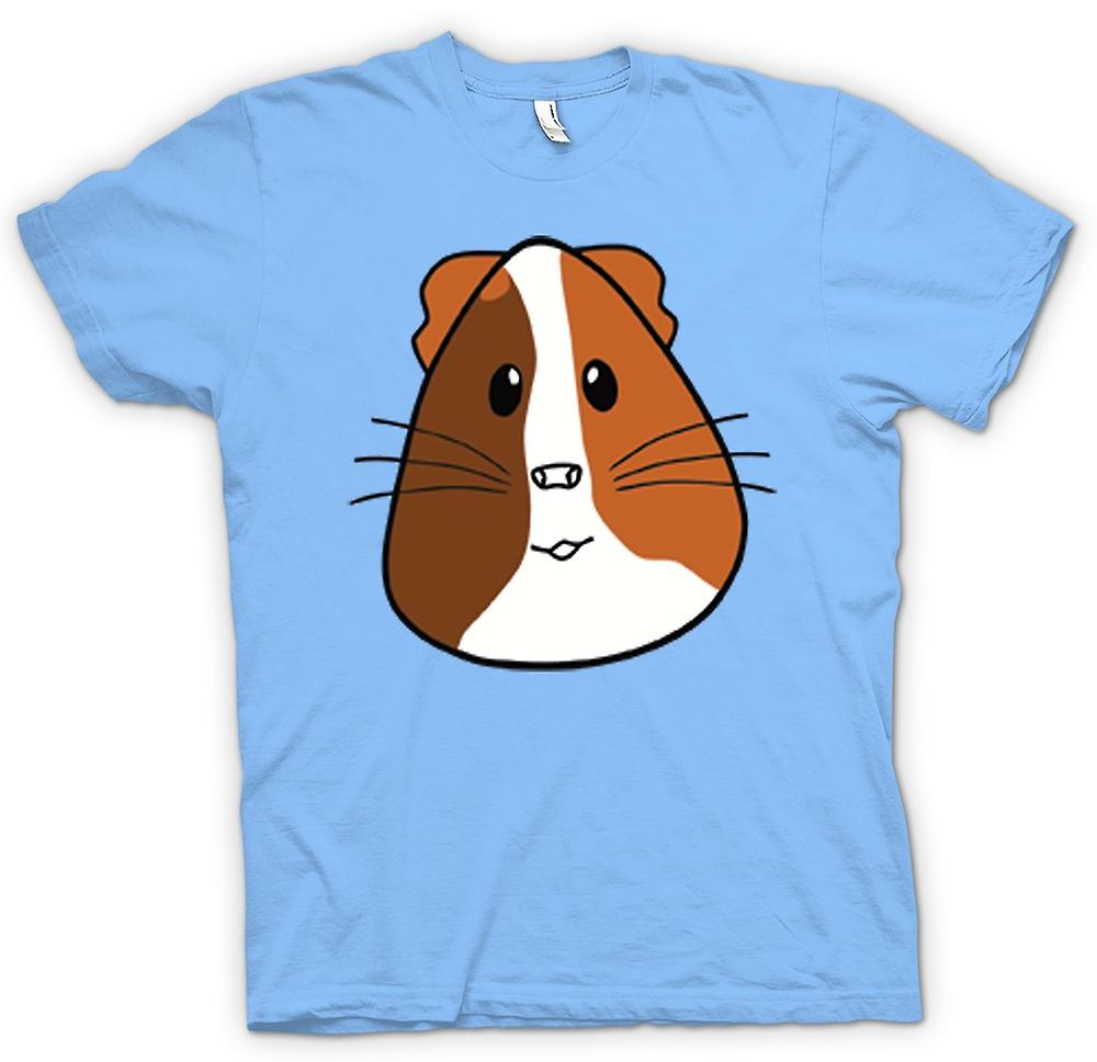 Mens T-shirt - Cartoon Guinea Pig Face