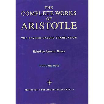 Las obras completas de Aristóteles - v. 1 - revisada traducción de Oxford