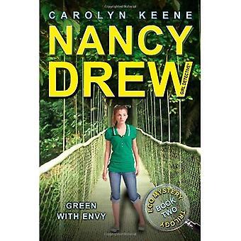 Vert de jalousie: Book Two dans la trilogie de mystère Eco (Nancy Drew (tout nouveau) fille Detectivemc série #40)