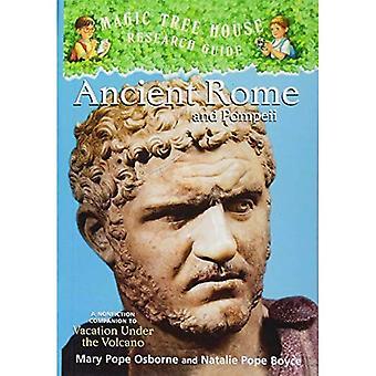 Antigua Roma y Pompeya: un compañero de no ficción de vacaciones bajo el volcán (guías de investigación casa de árbol mágica (Pb))