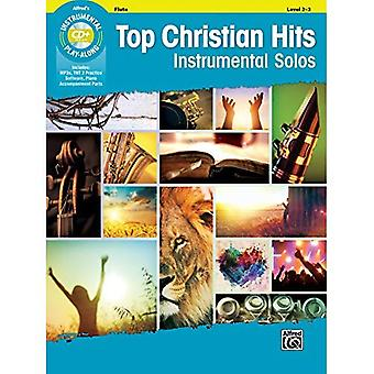 Top Christian Hits�Instrumental Solos: Flute,�Book & CD (Instrumental Solo)